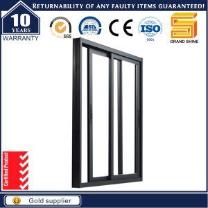 CER anerkannter Aluminiumprofil-thermischer Bruch-schiebendes Fenster