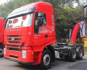 Venda a quente a Iveco Hongyan Genlyon cabeça do carro elevador Máquina do Trator
