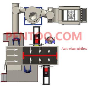 El silencio la ejecución de Revestimiento en polvo automática stand con precio competitivo