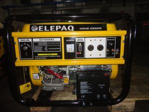 Los generadores de Gasolina 6kw Elepaq tipo (SV15000E2), Fuente de Alimentación para el hogar