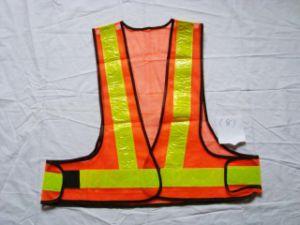 Тельняшка безопасности высокого Workwear видимости отражательная с Cert CE