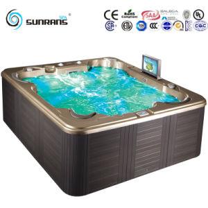 De HydroMassage OpenluchtHydroo Whirlpool Tub SPA van de luxe