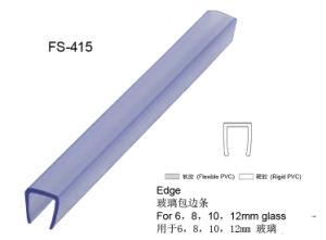 A vedação da porta de vidro de PVC para chuveiro