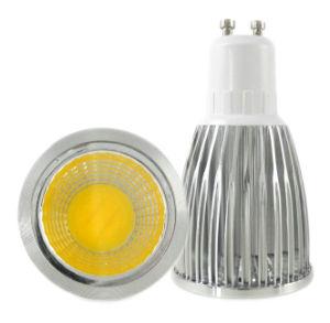 7W GU10 COB LED Light Alminum Alloy Shell