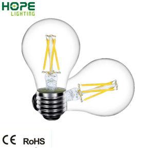 Höhepunkt Efficiency, Kriteriumbezogene Anweisung (>80 Ra), 6W LED Filament Bulb/Light