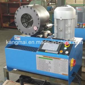 машина Km-91h шланга 2inch гофрируя для клиентов Чили