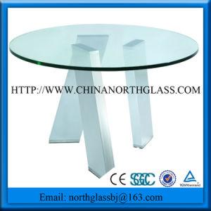 3-19mm móveis de vidro, vidro de mesa