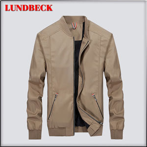 Rivestimento di modo per il cappotto casuale di stile di svago degli uomini