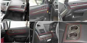 Les garnitures de Interrior fibre Carobn Voiture pour Subaru Legacy (Liberty) 2010