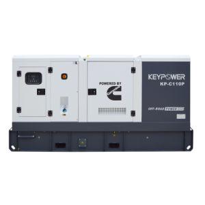 50Hz 110kwの無声発電機のディーゼル