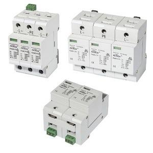 セリウムの公認1000VDC光起電サージの回線保護装置のサージの保護(タイプ2、40kA)