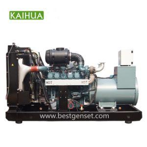 500kVA/400kw Doosan 힘 방음 디젤 엔진 발전기 세트 공급자