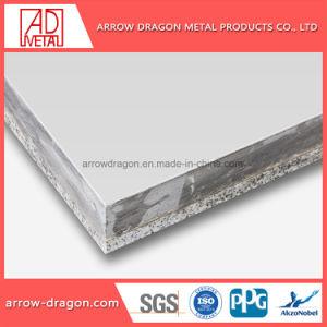 Le granit Pierre Non-Combustible aluminium Panneau alvéolé pour l'intérieur Revêtement mural