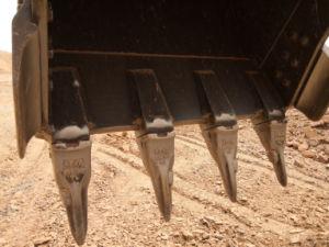 Hyundai R290 vorbildlicher Felsen-Meißel Art-Wannen-Zahn 61n8-31310RC
