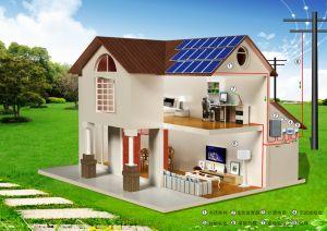 30kw sur-Grid pour la maison du système de l'énergie solaire