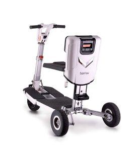 Pliage pliage Three-Wheeled valise Scooter électrique
