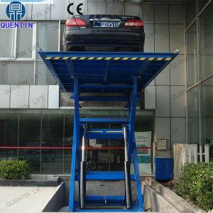 Quentin Marca automóvel tesoura hidráulica fixa mesa de elevação