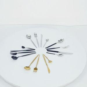Juego de vajillas cuberterías de acero inoxidable cuchillo y cuchara