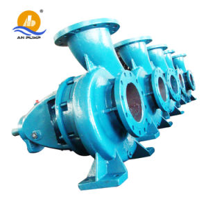 ISO centrífuga horizontal de la bomba de agua de mar de acero inoxidable
