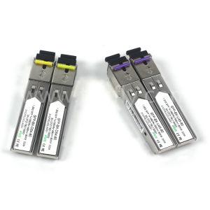 80kmギガビットのEthenet SFP Wdmのモジュール1490/1550nm Ddm