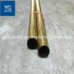 C10100 C11000 C12200 Tubo de cobre de H62 H65 H68 H70 H75 H80 H85 H90 Tubo de latón