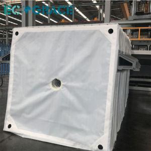 Filtro Prensa de la correa de tela del filtro de fieltro con aguja de polipropileno