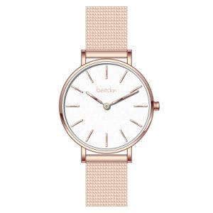 2018 La vente de meilleures Fashion Mesdames montre-bracelet en or