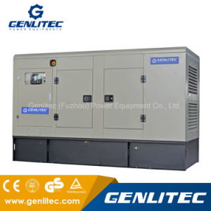 Un generatore di 100 chilowatt Cummins con l'interruttore automatico di trasferimento (ATS)