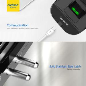 Facile alla serratura di portello di vetro della tastiera di Casma dell'aria dell'installazione