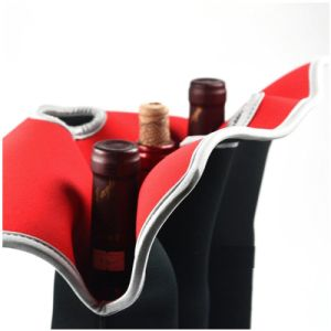 6 Pack 12 Pack 24 Pack peut de la bière en néoprène Porte-bouteille de boisson Sac fourre-tout du refroidisseur