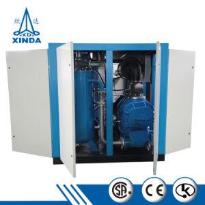Silencioso compresor de aire compresor de aire de tornillo de gasolina Médica para la venta