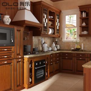 Beste Richtungs-Heiß-Verkaufende hölzerne Küche-Schränke von China
