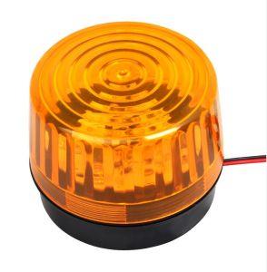 Rotatorio de luz estroboscópica LED giratoria de advertencia de Parpadeo luz de alarma sirena