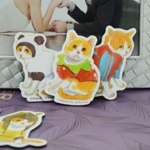 Magnete educativo dei giocattoli di disegno che veste puzzle di carta del magnete del frigorifero per i capretti