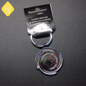 Os fabricantes da China Keyrings personalizado de metal para a promoção