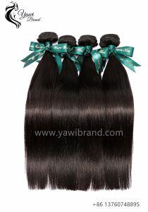 9A Brésilien Directement 100 % de Cheveux Humains de la Trame de Gros Noir Naturel