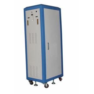 Grande generatore dell'ossigeno di flusso con le rotelle