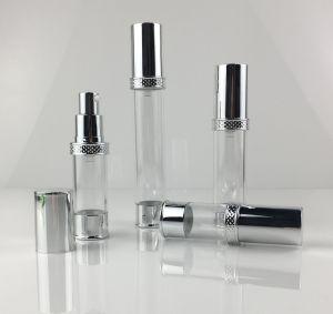 PP de plástico verde botella Airless Envases para Cosmética (PPC-PAB-036)