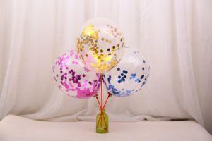 De in het groot Gouden Ballons van Confettien 12inch 18inch voor de Decoratie van Pary/van het Huwelijk