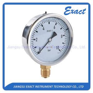 Manómetro de glicerina llena- lleno de aceite Gauge-Hydraulic Manómetro de presión