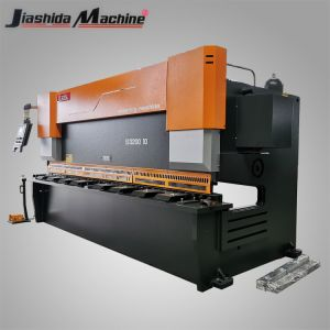 10X3200mm guilhotina CNC Hidráulica de chapa metálica máquina de corte de Cisalhamento