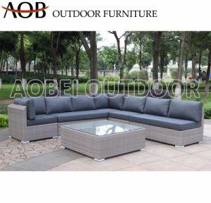 Exterior moderno patio Garden Hotel Resort Villa Rattan muebles de mimbre sofá de salón de ocio