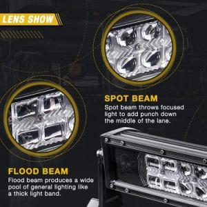 De Straal van ATV Spot&Flood Combo 4X4 van LEIDENE van de Mist van de Weg Veelkleurige Drijf RGB LEIDENE van Lichten Lichte Staaf