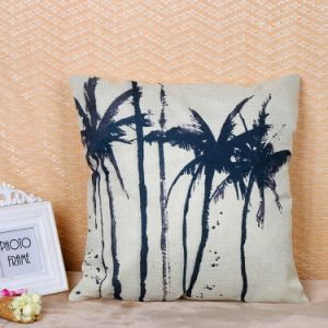卸し売り熱帯木のデジタルによって印刷される綿のリネンクッションカバー