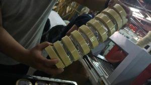 Manguito automática de contenedor y máquina de embalaje retráctil para cintas de enmascarar