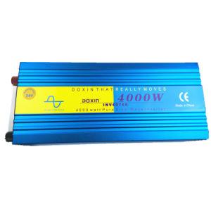 4 квт off Grid солнечной системы 12/24В Чистая синусоида инвертирующий усилитель мощности для проводящих бытовой техники