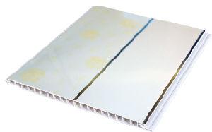 Los paneles de pared exterior de PVC PVC laminado Panel de pared, techo de PVC color madera junta