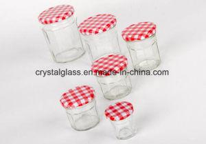 Breiter Mund-Glashonig-Glas