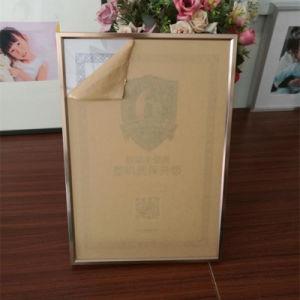 ポスターフレームを広告することはアルミニウムプロフィールの写真そして額縁を表示する