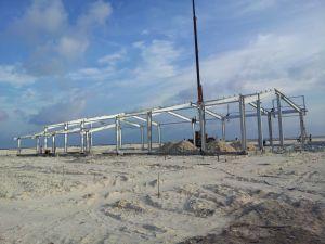 La garantía de calidad la construcción de la estructura de acero multicapa personalizadas